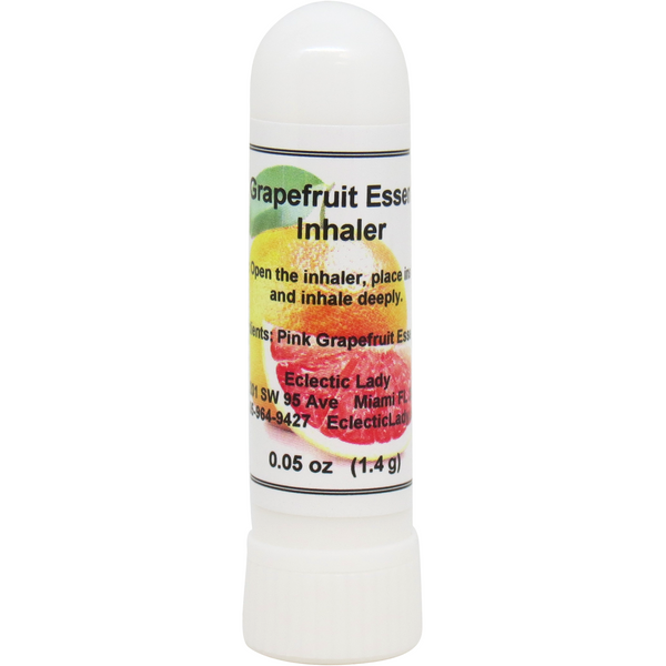 Pink Grapefruit Essential Oil Aromatherapy Inhaler