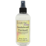 Sandalwood Patchouli Body Spray