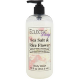 Sea Salt And Rice Flower Body Wash
