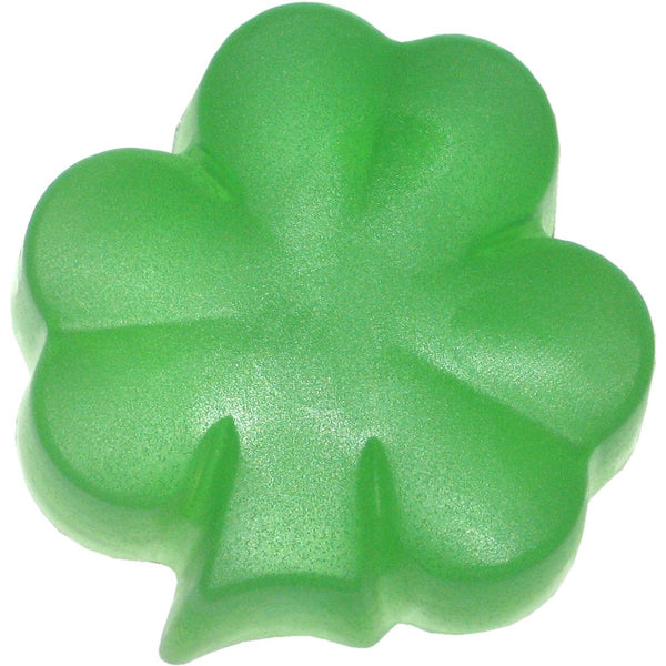 Green Clover and Aloe Handmade Shamrock Soap
