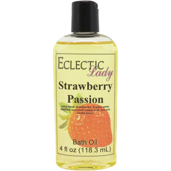 Strawberry Passion Bath Oil
