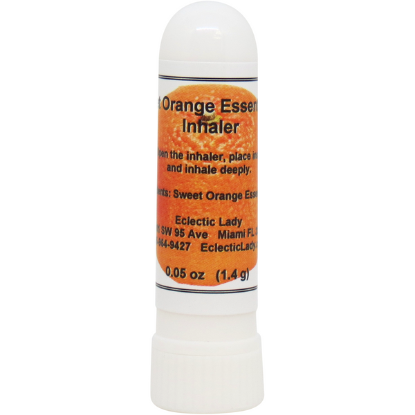 Sweet Orange Essential Oil Aromatherapy Inhaler