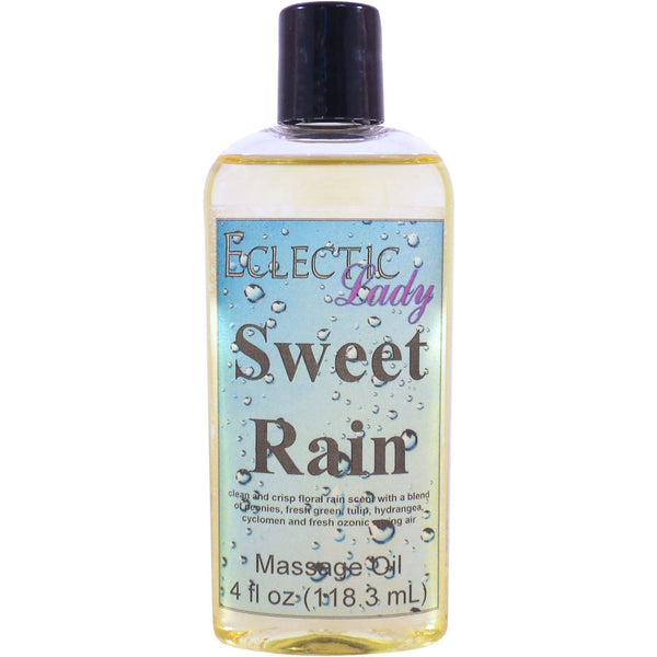 Sweet Rain Massage Oil