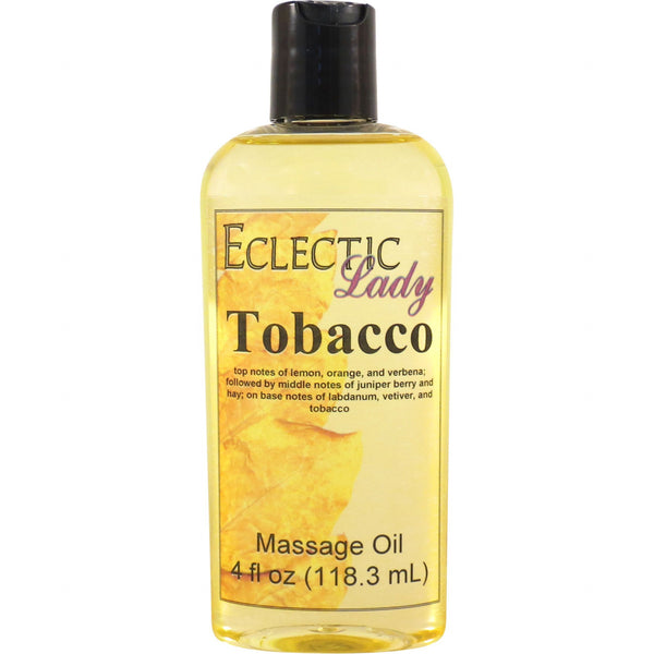 Tobacco Massage Oil