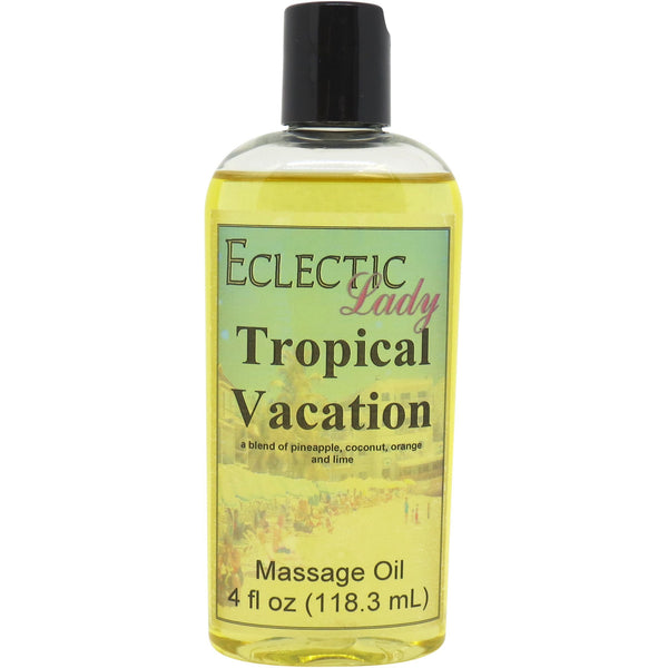 Tropical Vacation Massage Oil