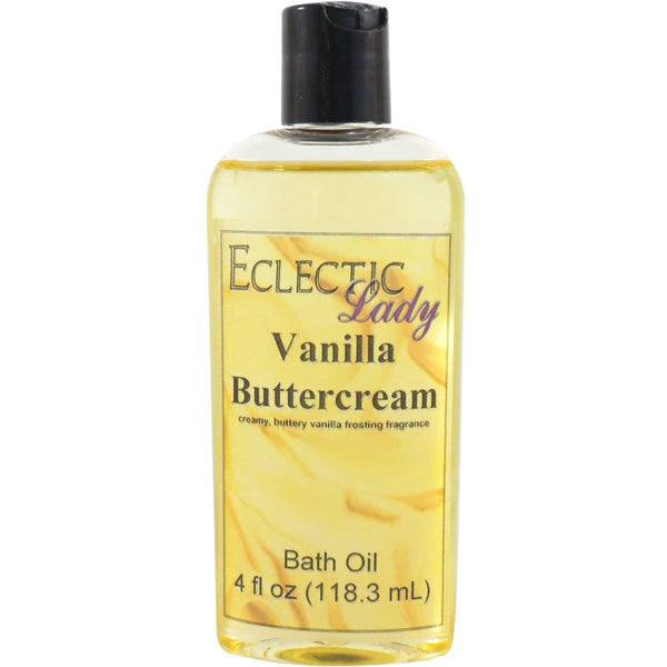 Vanilla Buttercream Bath Oil
