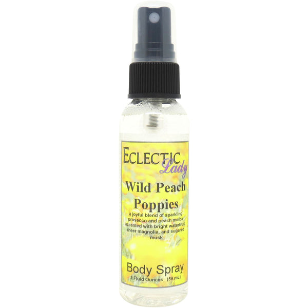 Wild Peach Poppies Body Spray