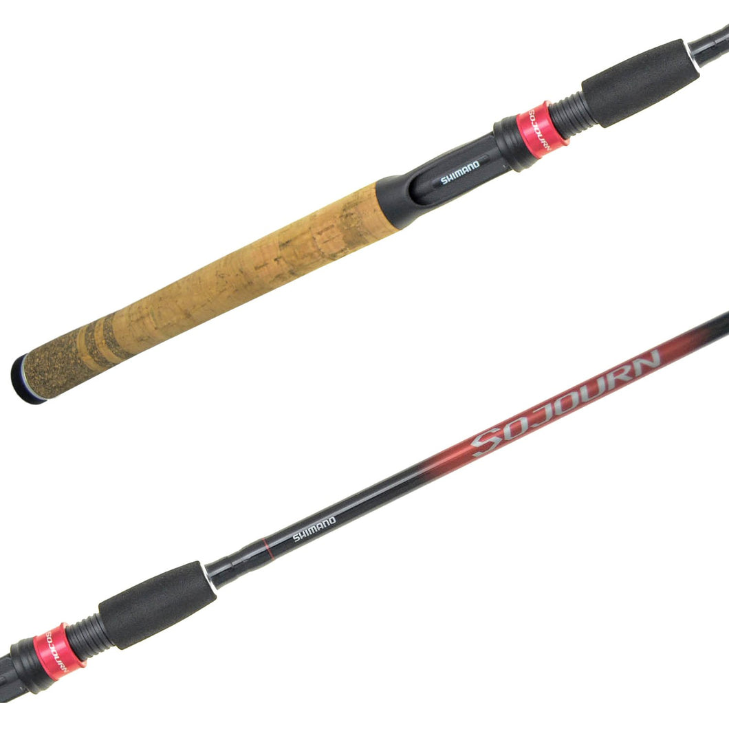 SHIMANO SOJOURN 7' MEDIUM FAST 2 PC SPINNING ROD