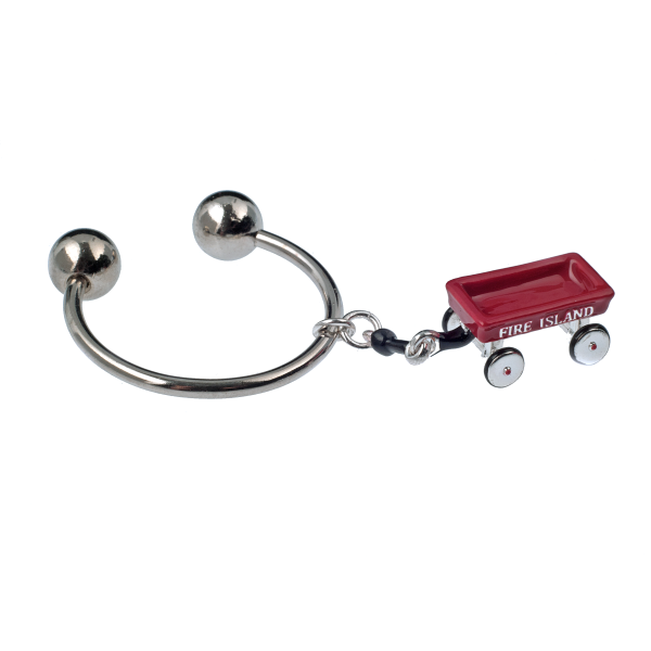 Fire Island Wagon Key Ring - KJKStyle