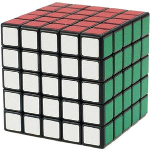 Puzzle Cube 5x5x5 Black White Borderless Magic Speed Cube