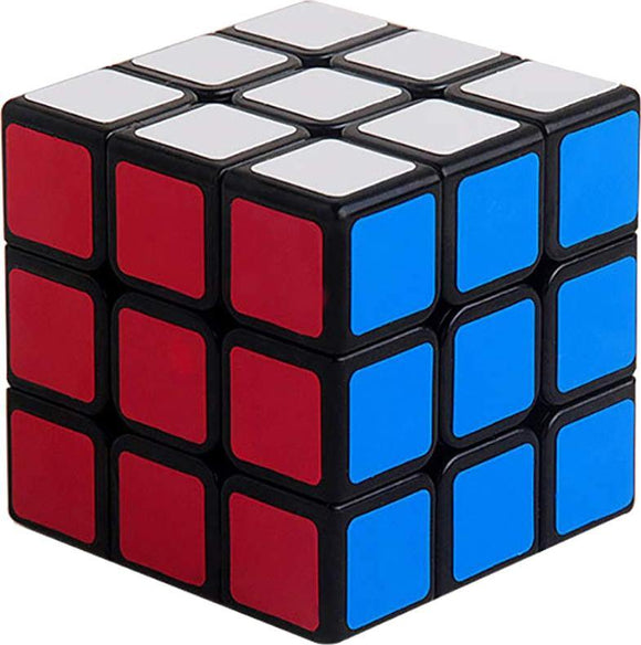Puzzle Cube 3x3x3 Black White Borderless Magic Speed Cube
