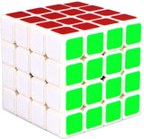 Puzzle Cube 4x4x4 Black White Borderless Magic Speed Cube