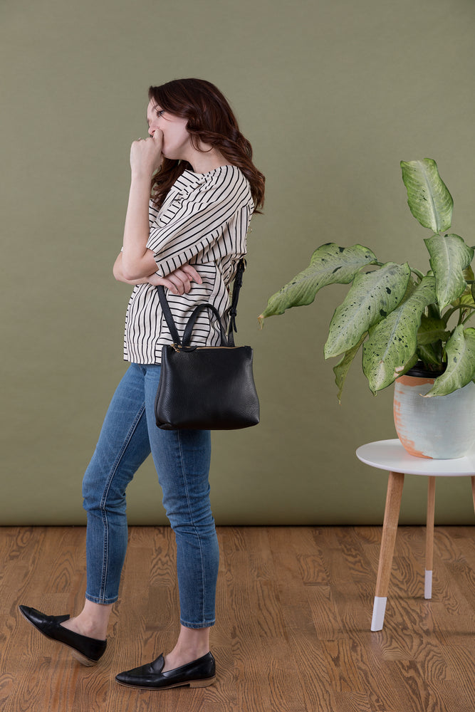 Load image into Gallery viewer, Coco Crossbody- Black