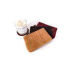 Eco-Friendly Candle & Leather Pouch Gift set by Shana Luther