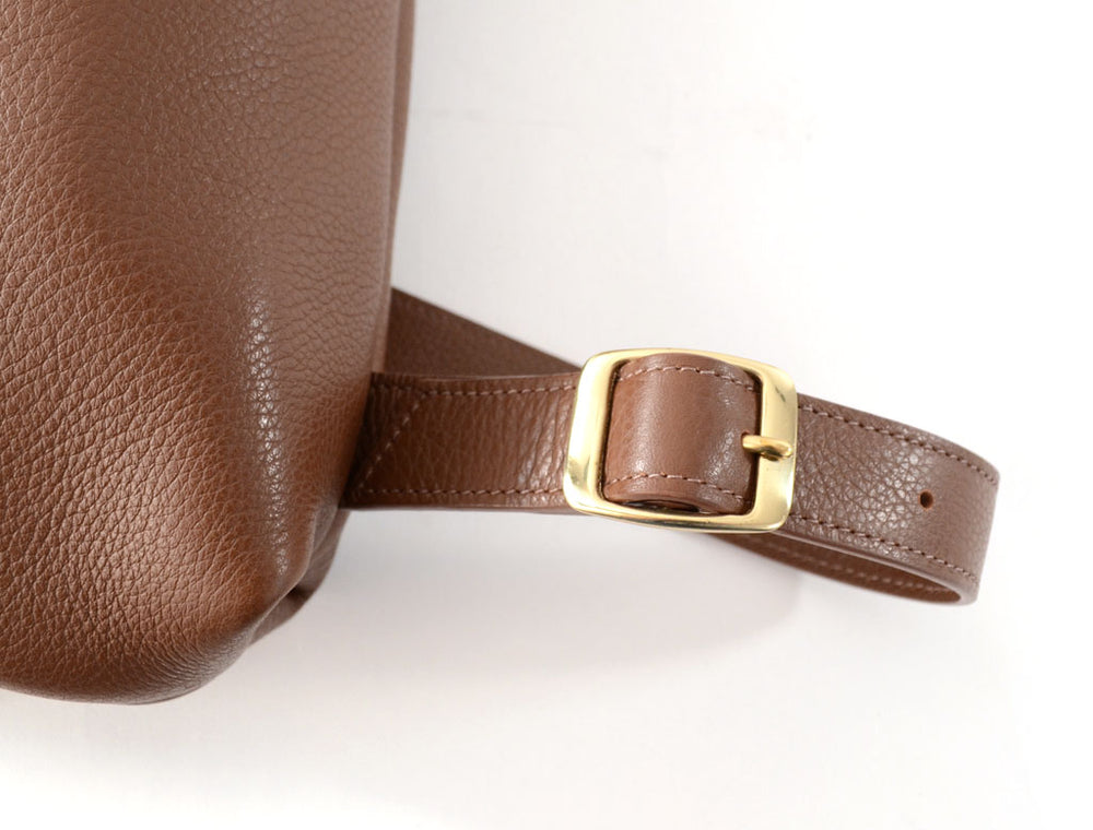 Load image into Gallery viewer, Brown Leather Backpack by Shana Luther