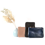 Small Lucy Leather Leather Pouch by Shana Luther