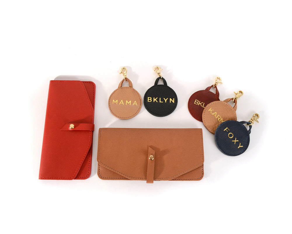 Maxi Wallet and Keychain Gift Set by Shana Luther