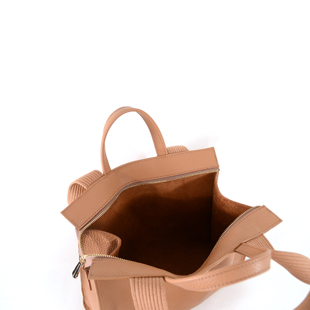 Load image into Gallery viewer, Mini Lucy Tote by Shana Luther- Unlined leather tote, made in Brooklyn