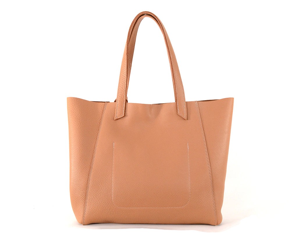Load image into Gallery viewer, Handcrafted Leather June Tote in Oak