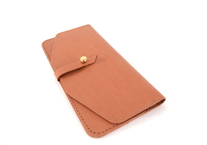 Load image into Gallery viewer, Veg Tan Maxi Wallet by Shana Luther