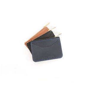 Load image into Gallery viewer, Veg Tan top Zip Wallets by Shana Luther
