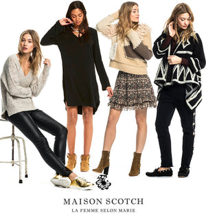 Maison Scotch vinter 2016 - shop online
