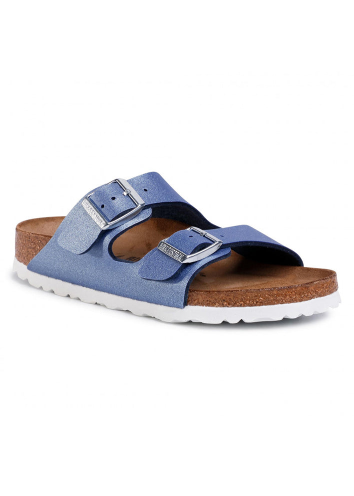 Birkenstock Arizona - Icy metallic azure blue 1016851 smal