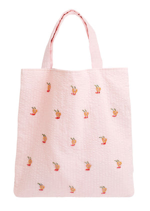 Hvisk Tote Dale - Shopper Net - Soft Pink
