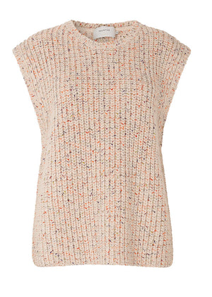 Munthe Touch Knit Vest - Nature