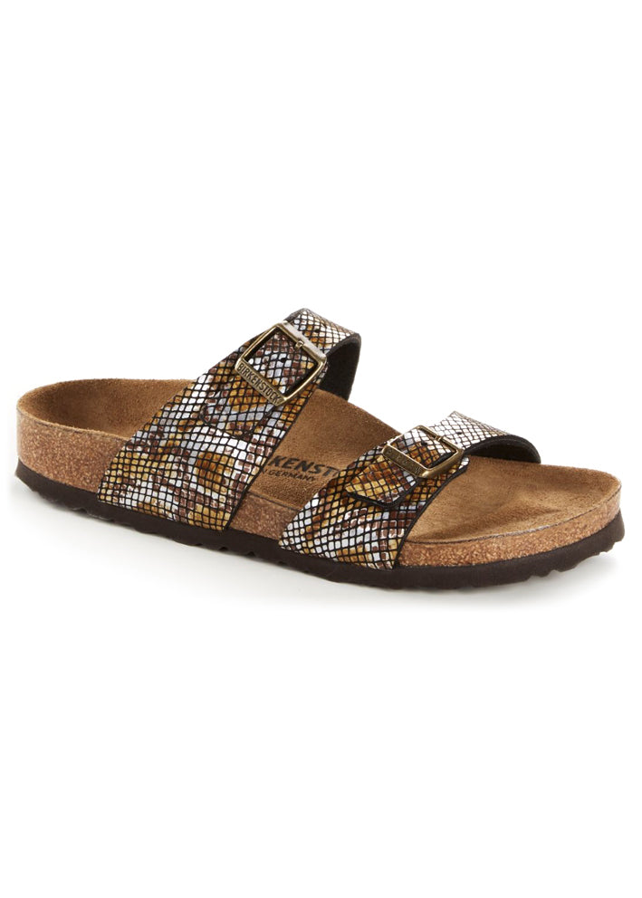 Birkenstock Sydney Python Brown 1016894 regular