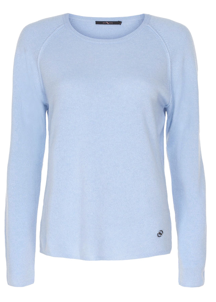 Butterfly CPH Cashmere pullover - light blue