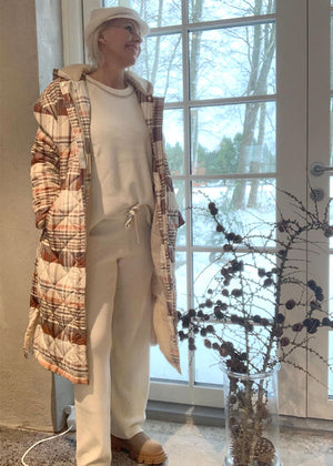 Gustav Striped Lurex Dress 35500 Kjole med striber og glimmer