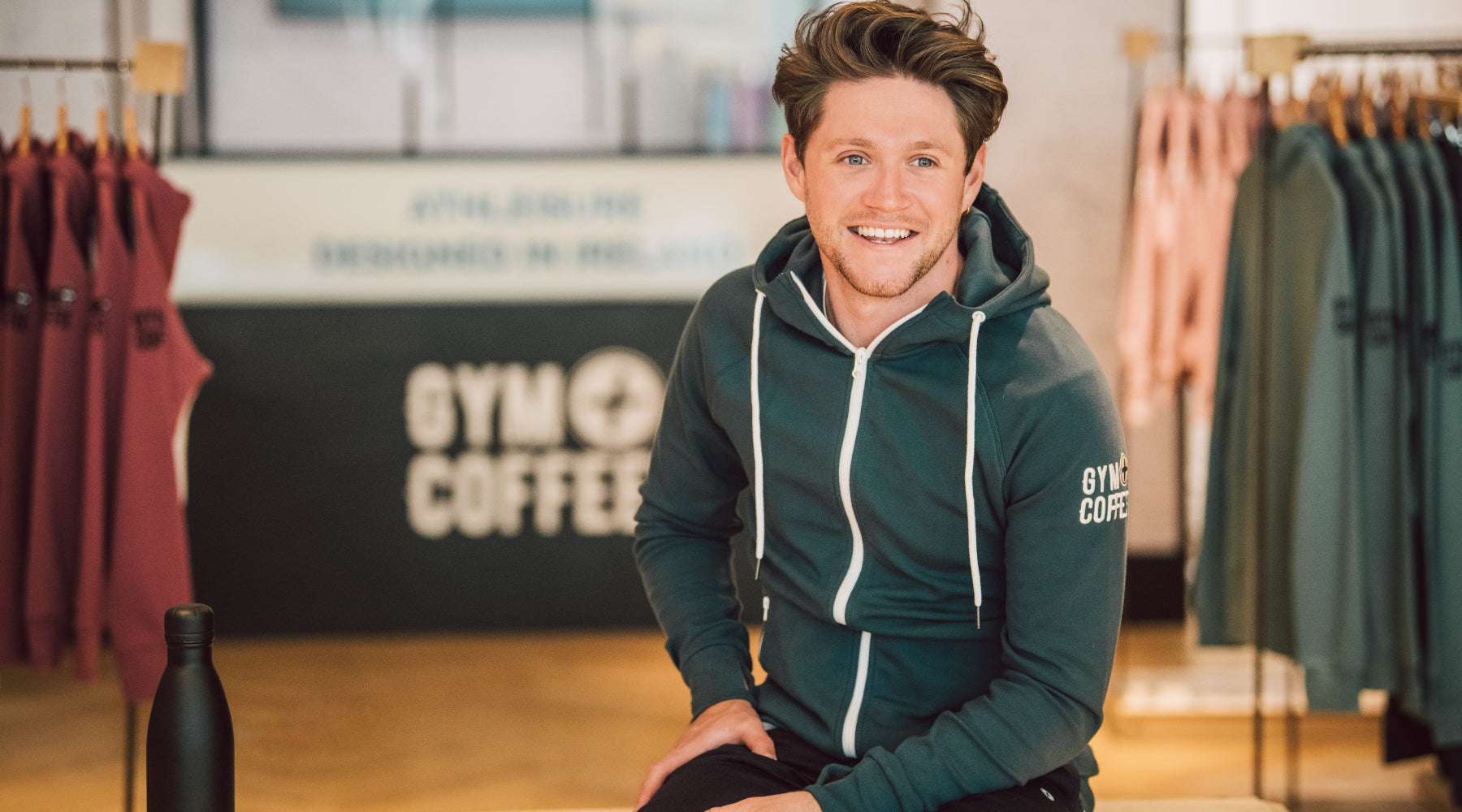 Gym plus coffee big announcement Meet Niall Horan brand advisor and investor