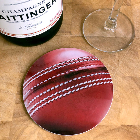 Be a Good Sport Cricket Coaster