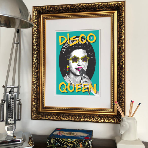 Disco Queen Signed Print