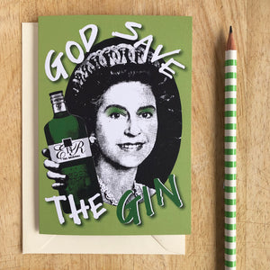 God Save the Gin Card
