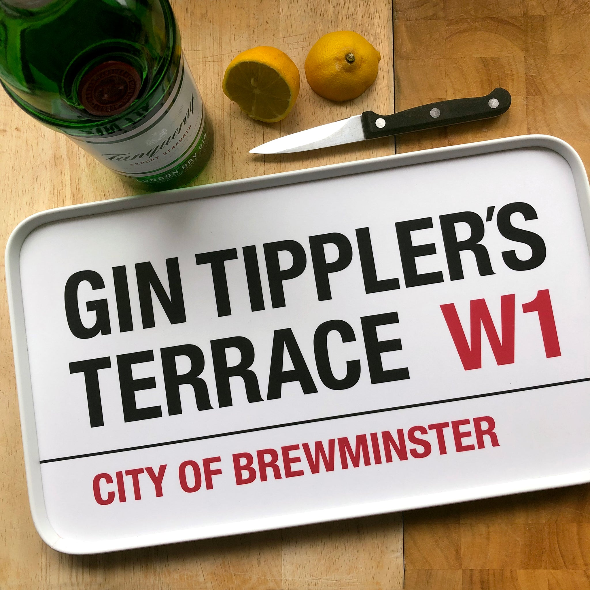 Gin Tippler's Terrace Tray