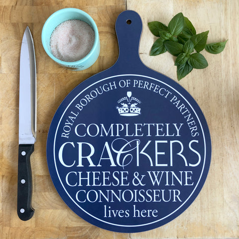Completely Crackers Chopping Board