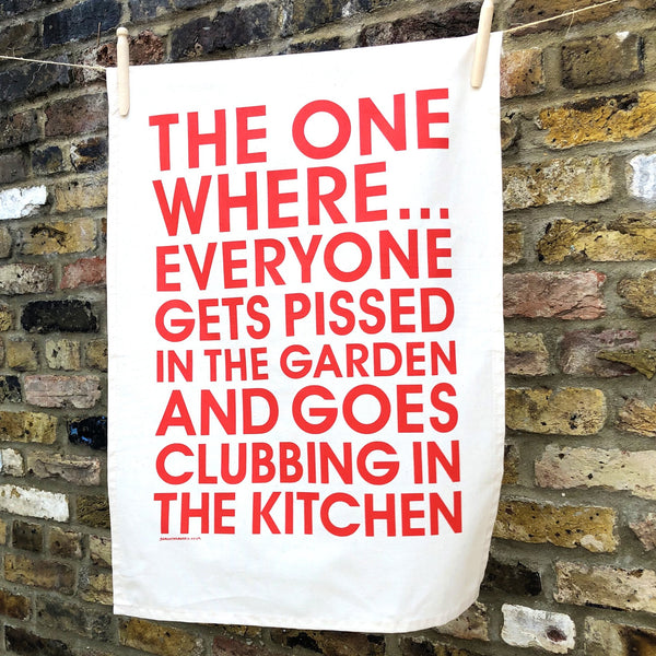 Clubbing in the Kitchen Limited Edition Tea Towel