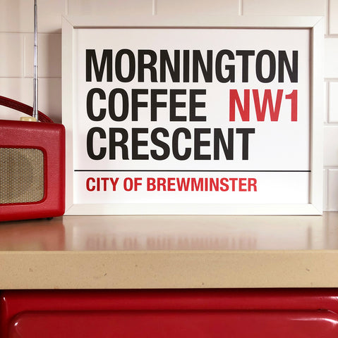 Mornington Coffee Crescent Print
