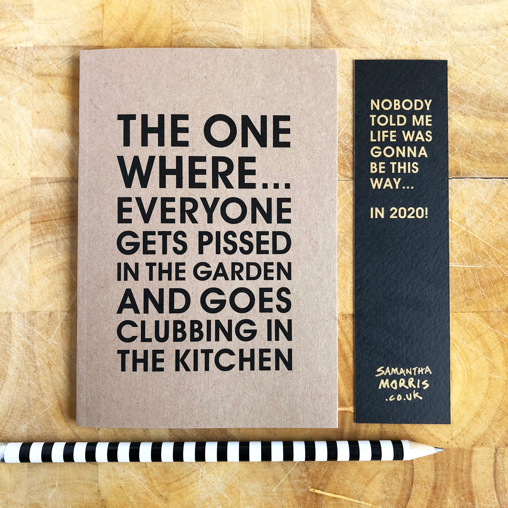 Clubbing in the Kitchen Limited Edition Notebook