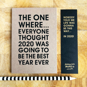 2020 Best Year Ever Limited Edition Notebook