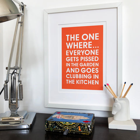 Clubbing in the Kitchen Print