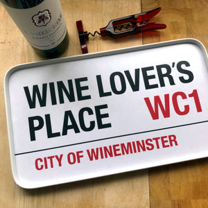 Wine Lover's Place Tray