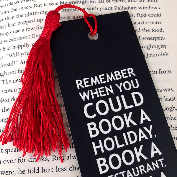 Book A Haircut Bookmark