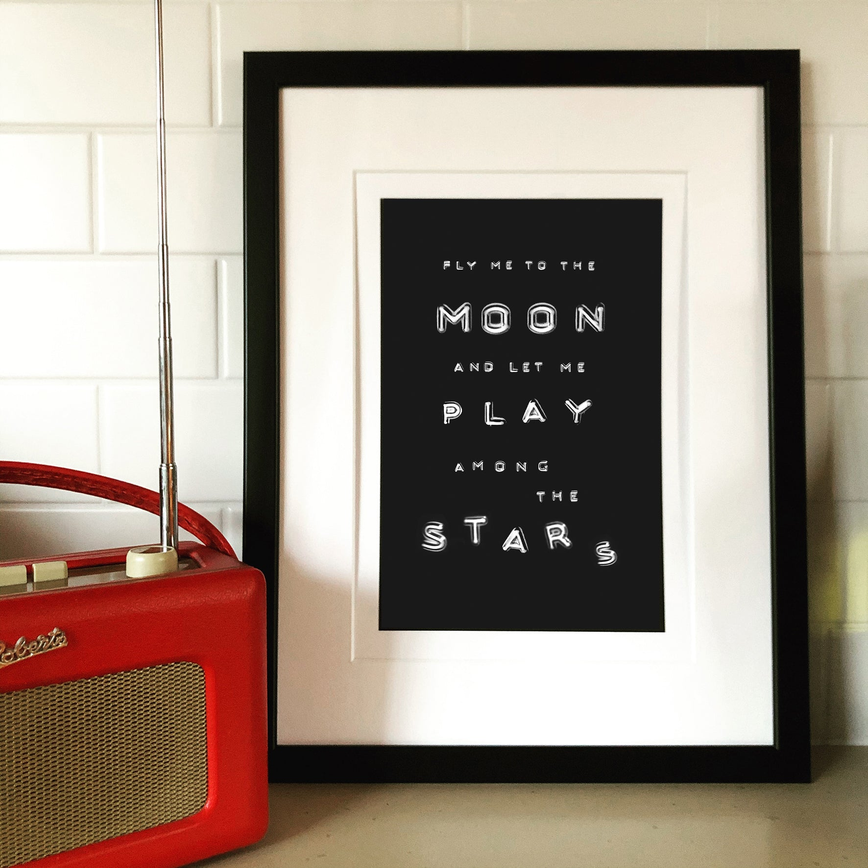 Fly me to The Moon... Print