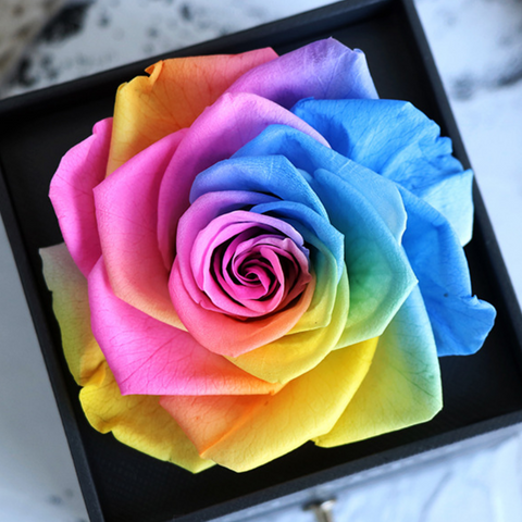 Eternal Rose Jewelry Gift Box Forever Rose Best Wishes Gift Box