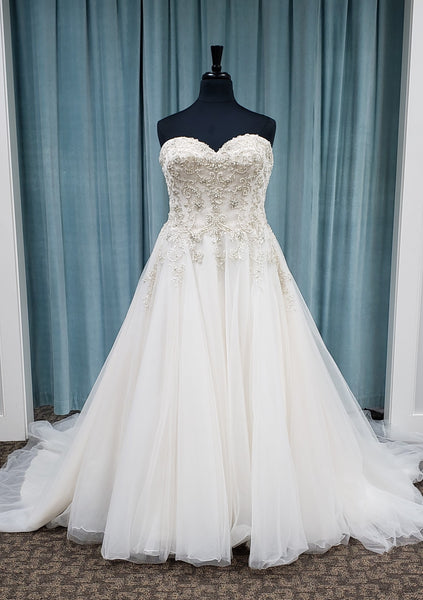 Unforgettable by Bonny Bridal 1709 Sale Wedding Dress