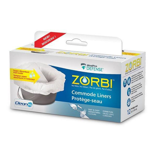 Zorbi Commode Liners - Home Health Store Inc