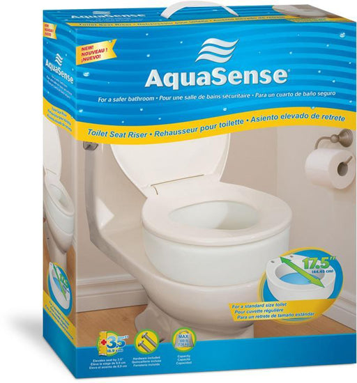 Aquasense Elongated Toilet Seat Riser - Home Health Store Inc